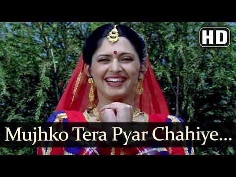 Mujko Tera Pyar Chahiye  (HD) - Mardangi Song - Archana Joglekar - Hemant Birje