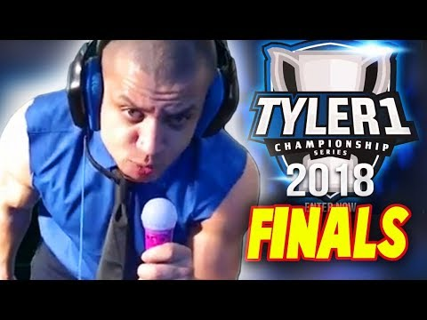 Tyler1 $50.000 TCS FINALS HIGHLIGHTS Game 01