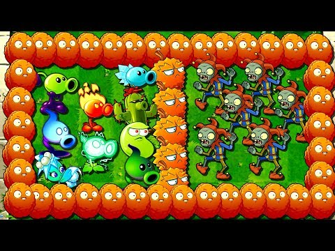 Plants vs Zombies 2 How to Defeat Jester Zombie Compilation of Plants Power UP