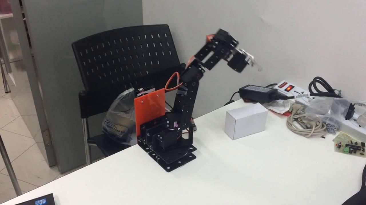 Arduino and 6DOF Robot ARM