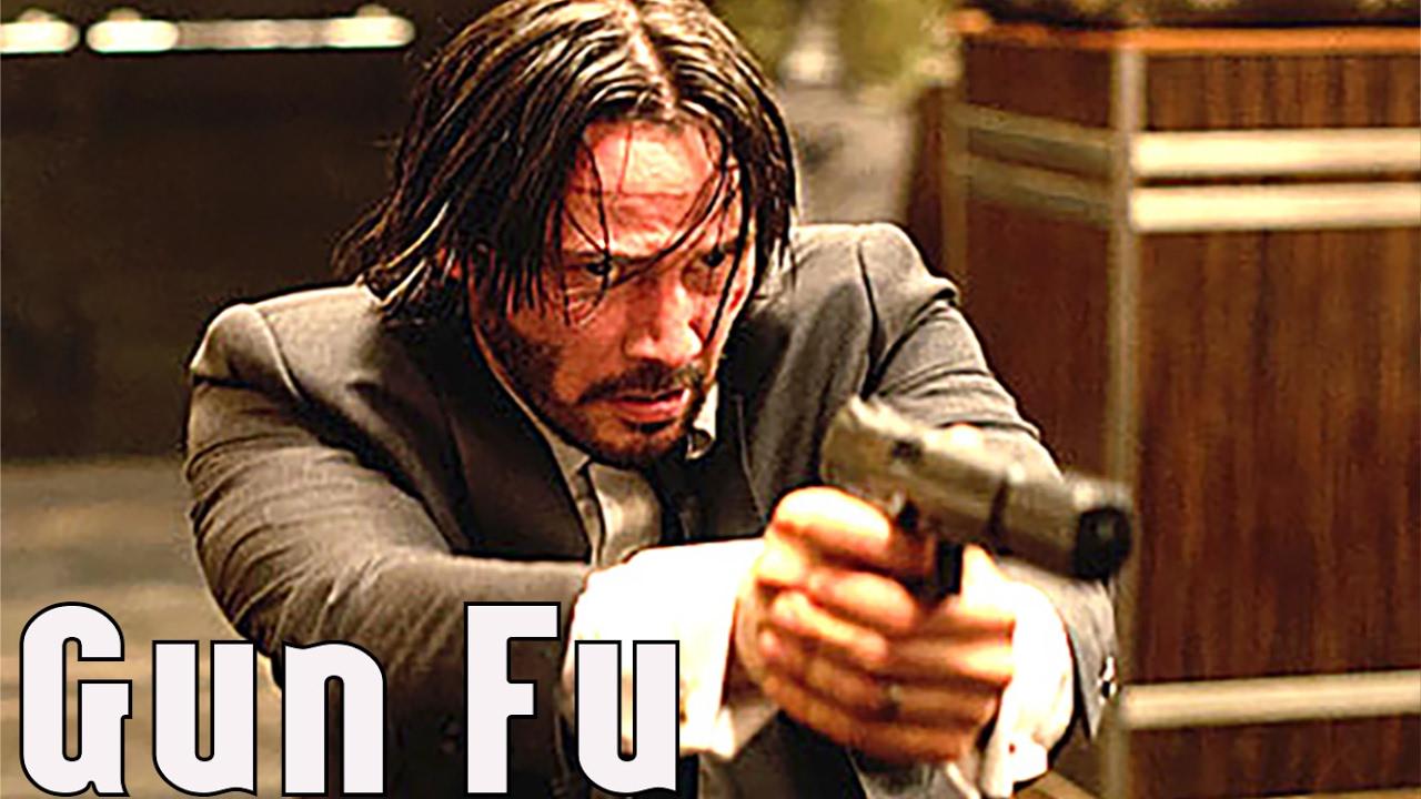 gun fu john wick 2  training featurette keanu reeves