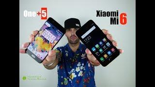 OnePlus5 vs Xiaomi Mi6 - La batalla definitiva