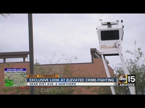 Peoria PD set up sky towers to monitor stores during holiday season