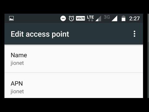 Xiaomi Redmi Note 3 Reliance Jio 4G LTE Sim VoLTE APN Settings