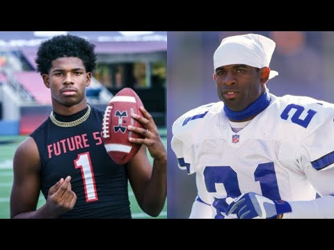 17 Sons Of NFL Legends Wholl Be Superstars