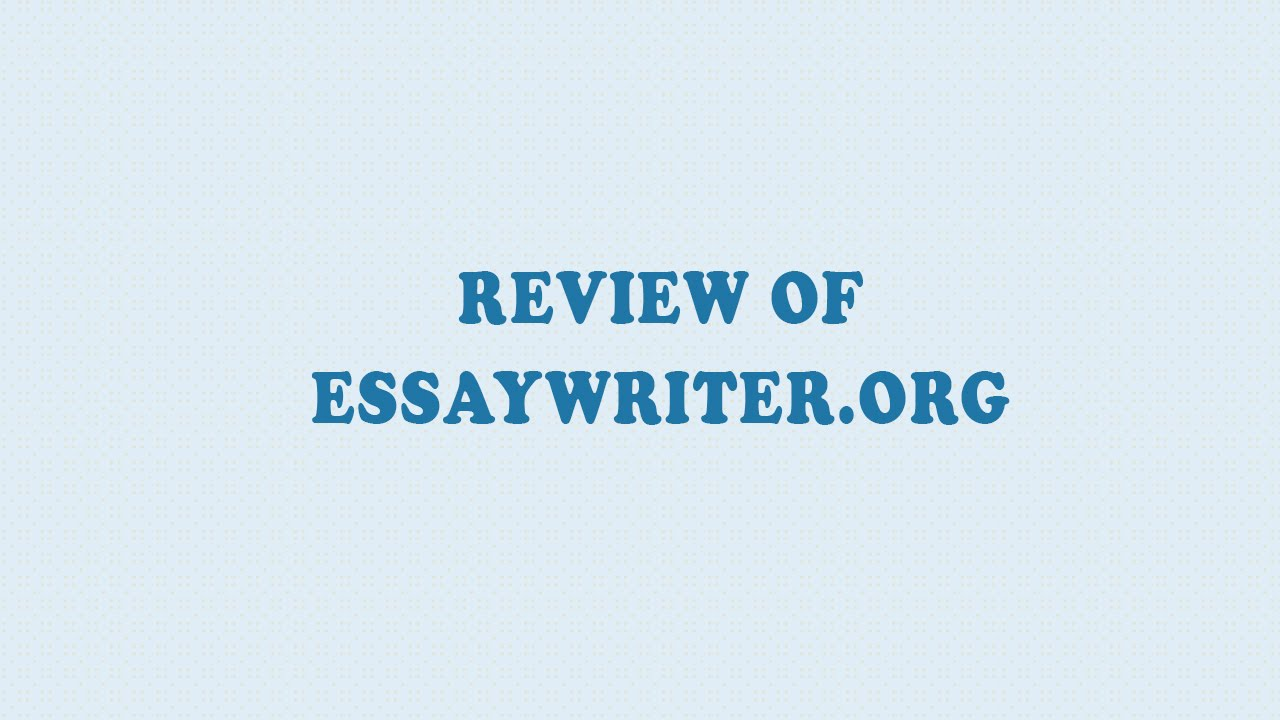 Essay services reviews youtube