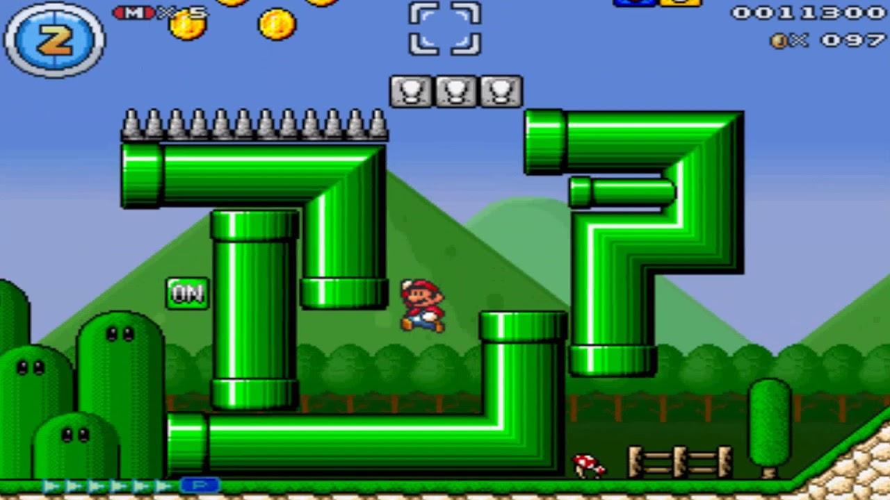 Super Mario Bros Mythical Mushrooms Pc 2011 Gameplay Video Youtube