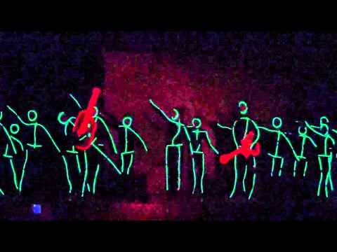 Glow Stick Man Talent Show Cornerstone Community School