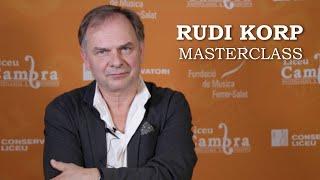 Masterclass amb Rudi Korp - Cicle Liceu Cambra