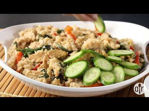 How to Make Thai Spicy Basil Chicken Fried Rice | Dinner Recipes | Allrecipes.com