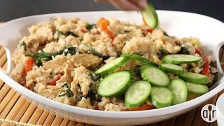 How to Make Thai Spicy Basil Chicken Fried Rice | Dinner Recipes | Allrecipes.com