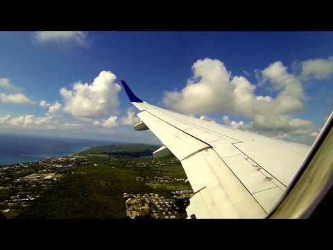 Landing in St. Croix, U.S. Virgin Islands
