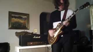 JD Simo, 1958 Les Paul, 1968 50 watt Marshall Plexi