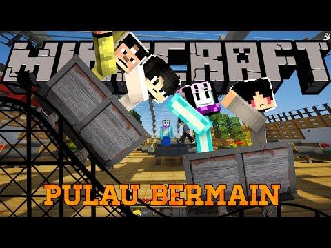 "PULAU BERMAIN 4BROTHER | 4Brother Rekreasi #2 ""Olann Island"" | Minecraft Indonesia"