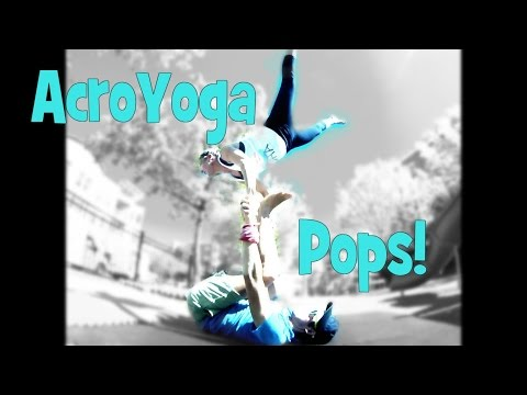 How to Acro Yoga Star pop to Reverse Throne