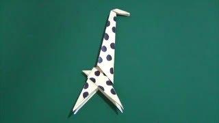 Origami'giraffe'「きりん」折り紙