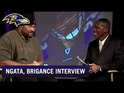 Get to Know DT Haloti Ngata, O.J. Brigance Interview