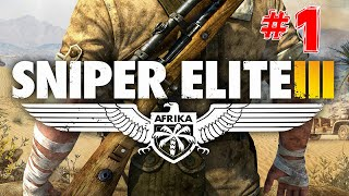 Sniper Elite 3 Walkthrough Mission 1 Siege of Tobruk