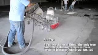 Полировка бетонного пола(Полировка бетонного пола., 2013-07-22T09:47:37.000Z)