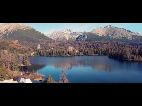 Tatry | Slovakia mountains | Štrbské Pleso | DJI Mavic Mini cinematic video