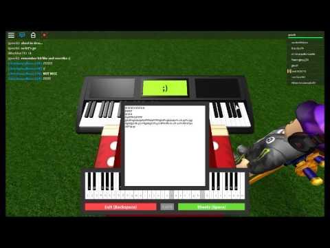 roblox piano music sheets easy