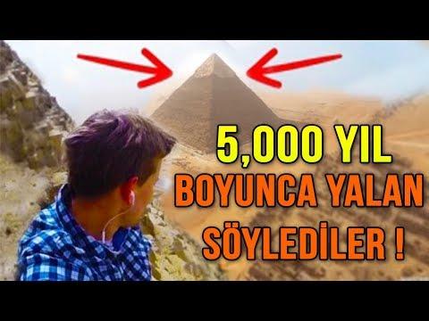 Büyük Mısır Piramitlerin Sırrı Sonunda Çözüldü !