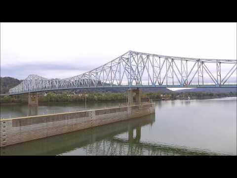 DJI Phantom 3 Standard: Ohio River in Hannibal, OH