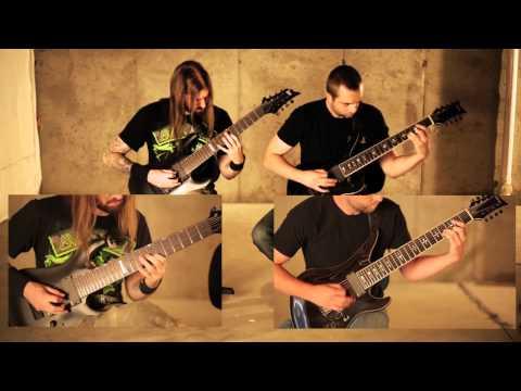 """Allegaeon """"Tartessos: The Hidden Xenocryst"""" guitar demonstration"""