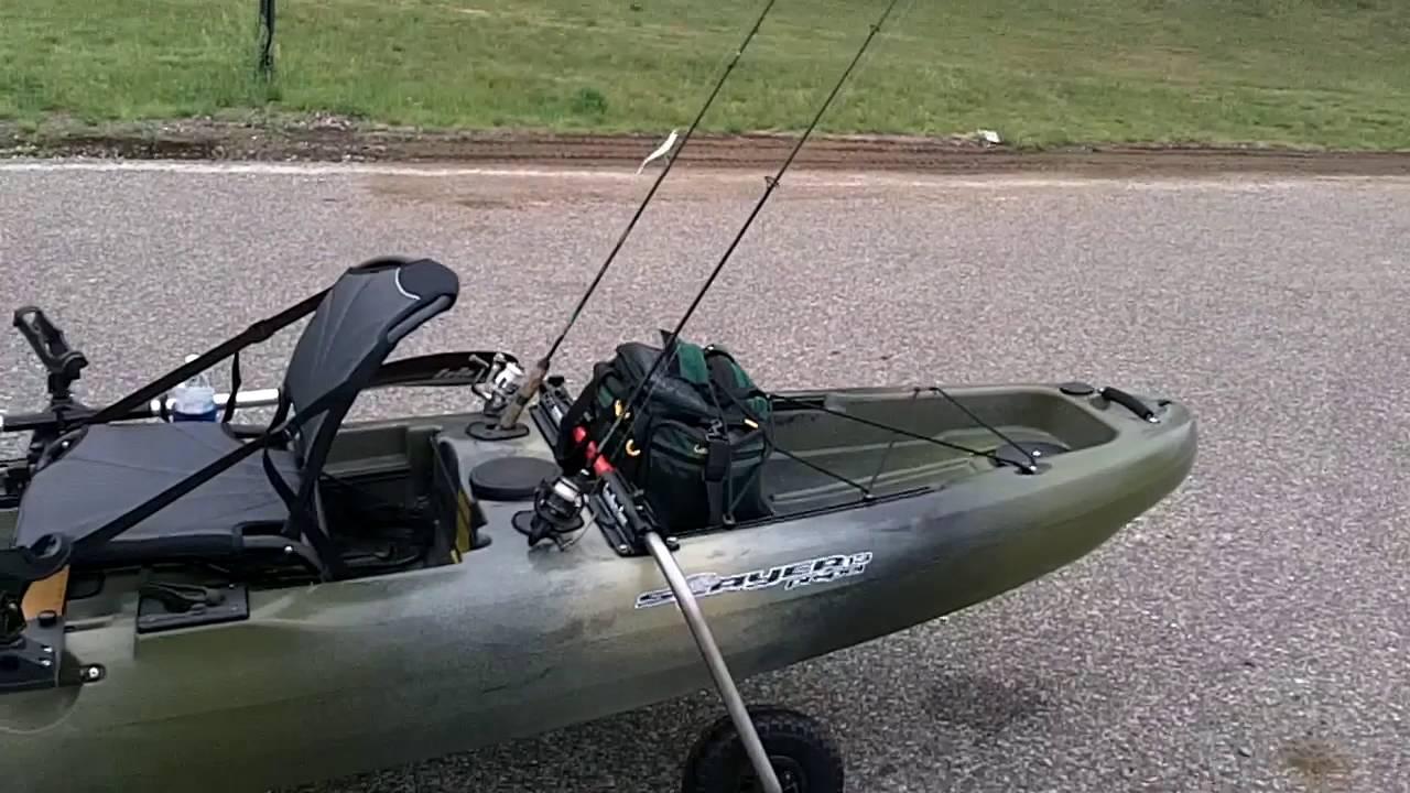 2016 native propel 13 nfn 39 s new fishing kayak rigged up for Native fishing kayak