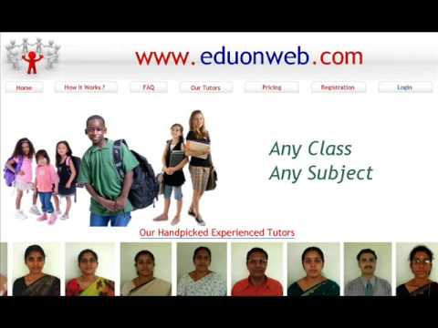 Edu on Web - www.eduonweb.com, indian tutors, maths tution, indian teachers, k-12 tution