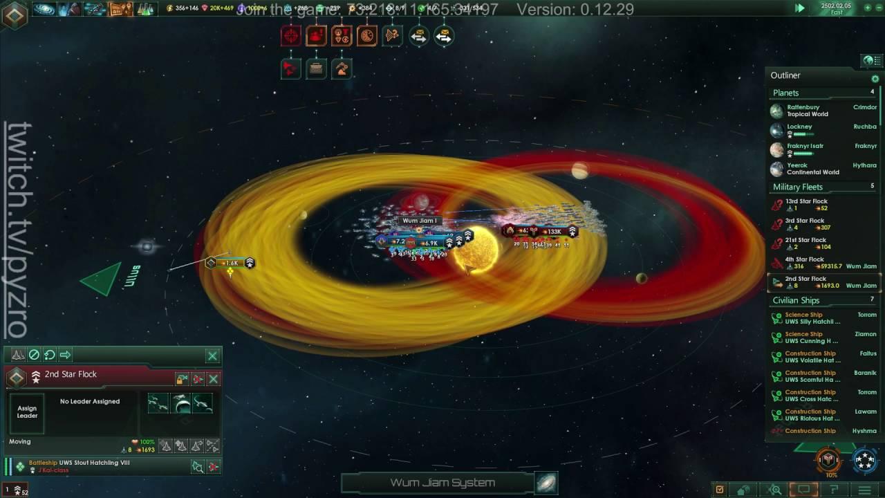 Stellaris battle. 275k vs 256k fleet size - YouTube