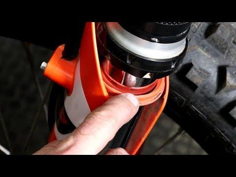 Dirt Bike Fork Maintenance Tips