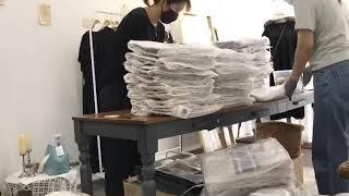 주문폭주 에코백 택배포장~