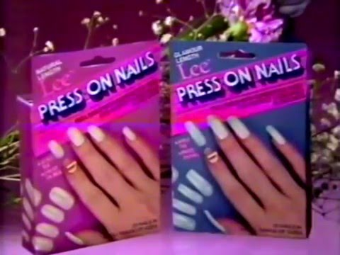 80 S Ads Lee Press On Nails 1985