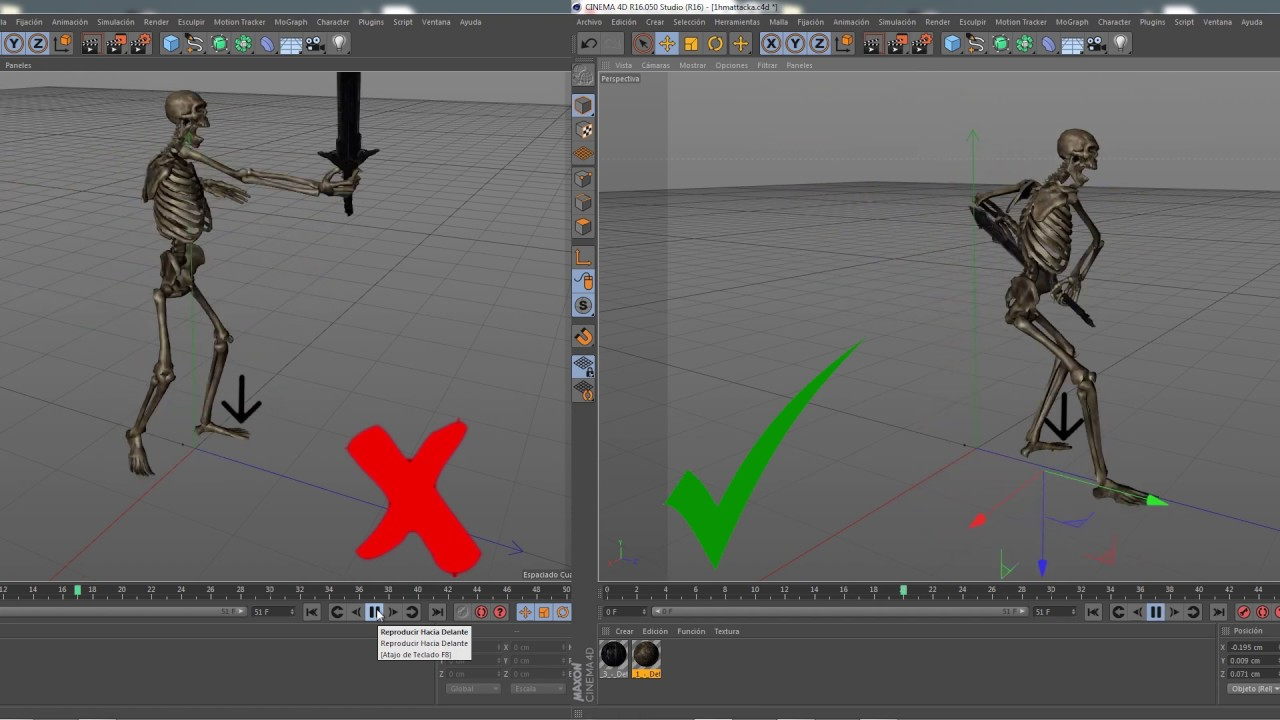 Tutorial Using Xpresso in Cinema 4d to improve animations  Solution 1   Download the project