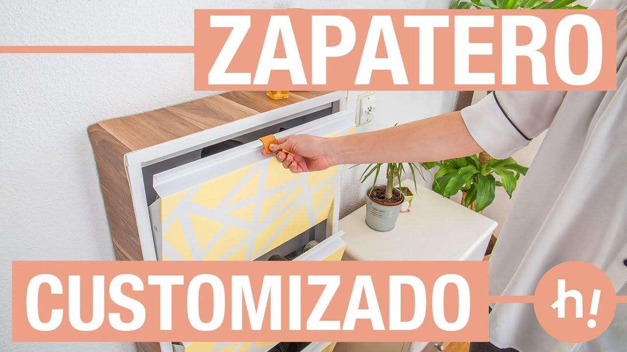 Como Personalizar Un Zapatero Blanco Handfie Diy