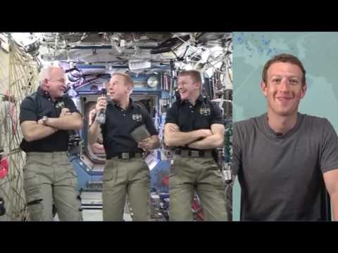 Mark Zuckerberg Awkward Interview With Astronauts meme