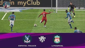 Crystal Palace vs Liverpool | PES 2019 | Gameplay PC | PlayZone Game