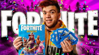 OPENING FORTNITE ONS IN REAL LIFE