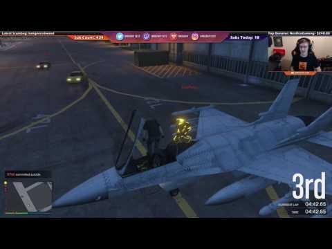 Jet Stealing Instant Karma (GTA Online) [Twitch]