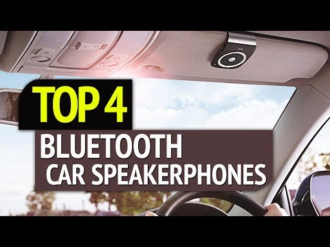 top-4:-best-4-bluetooth-car-speakerphones-2019