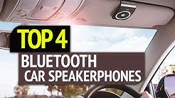 TOP 4: Best 4 Bluetooth Car Speakerphones 2019