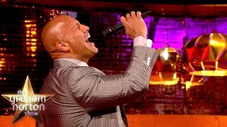 Repeat youtube video The Rock Re-Enacts Iconic Catchphrase - The Graham Norton Show