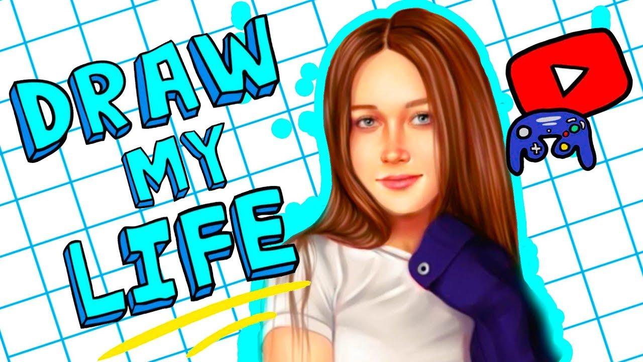 DRAW MY LIFE | Энни Мэй