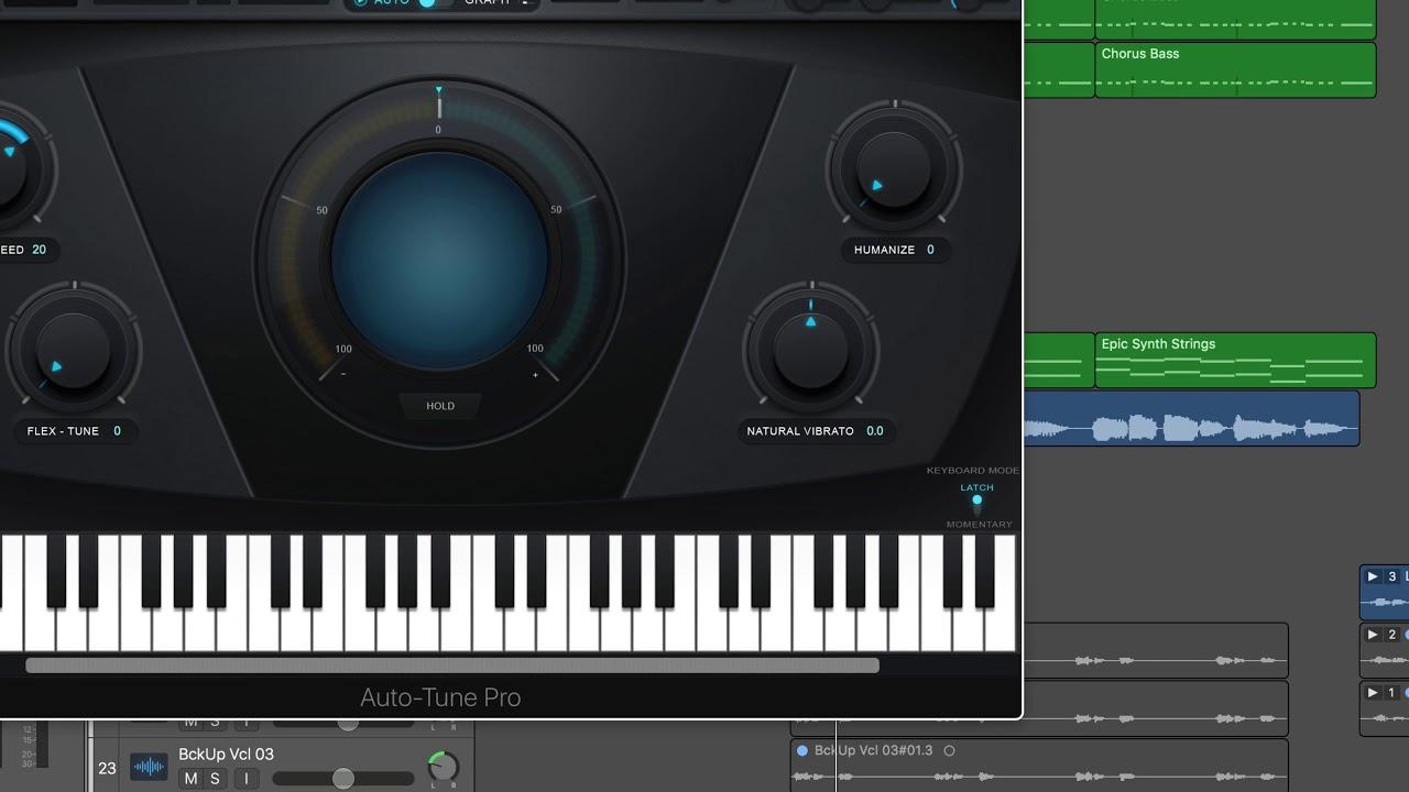 Video: Using Auto Tune Pro in Logic Pro X | Logic Pro