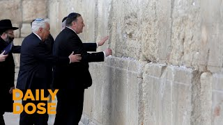 Download Video Secretary of State Pompeo Visits Jerusalem's Western Wall MP3 3GP MP4