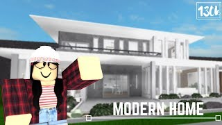 Roblox: Welcome to Bloxburg | Modern Home (130k)
