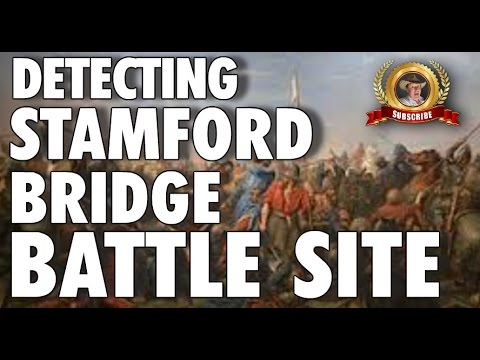 Metal Detecting at The Battle of Stamford Bridge