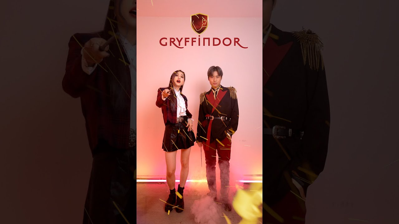 Harry Potter x K-Pop Outfits!   Ellen and Brian #Shorts #YouTubePartner