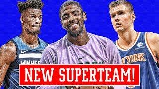 KNICKS SUPERTEAM INCOMING! MELO STILL A TOP 10 PLAYER?! | NBA NEWS